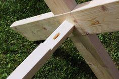 STILkvisten: Bygga trädgårdsbord