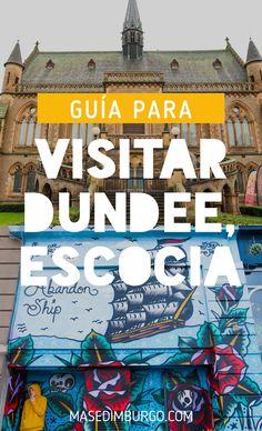 Guía para visitar la ciudad de Dundee (Escocia). Qué ver, cómo llegar desde Edimburgo y excursiones cercanas. #Escocia Dundee, Comic Books, Comics, Cover, Edinburgh, Scotland, Paths, Traveling, Countries