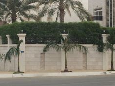 Fence Wall Design, Exterior Wall Design, Stone Wall Design, Modern Fence Design, Gate Design, Natural Fence, Natural Stones, Compound Wall Design, Boundary Walls