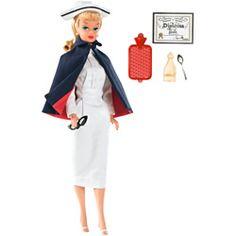 Barbie Collector Vintage Quero Ser - Enfermeira