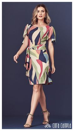 Shop Sexy Trending Dresses – Chic Me offers the best women's fashion Dresses deals Curvy Outfits, Dress Outfits, Mode Cool, Long Evening Gowns, Island Outfit, Fashion Mode, Fit Flare Dress, Simple Dresses, Women's Fashion Dresses