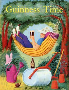 guinness summer   Guinness Time Summer 1960