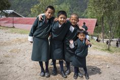 The outdoors is a classroom in Bhutan! Image: Conor_Ashleigh_-®2014