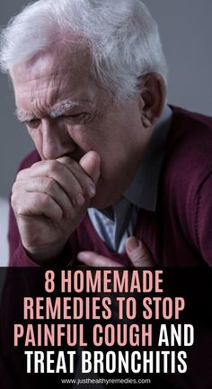8 Homemade Remedies to Stop Painful Cough and Treat Bronchitis Natural Cold Remedies, Cold Home Remedies, Cough Remedies, Homeopathic Remedies, Coldsore Remedies Quick, Indian Home Remedies, How To Stop Coughing, Home Remedy For Cough, Cold Sore