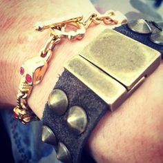 Bracciale Magnetic LOVE: MIMETIC & SKULL. leaves the trail of your energy