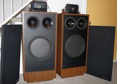 POLK AUDIO RTA 12 | Lookie what I got -- RTA-12C — Polk Audio Polk Speakers, Hifi Speakers, Ultimate Man Cave, Music Images, Loudspeaker, Audiophile, Gadgets, Channel, Rooms