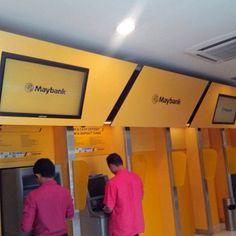 Maybank #digitalsignage #KreaTeeVee #Padgram