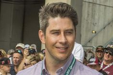 """Arie Luyendyk, Jr., connected with Zach Braff after the """"Scrubs"""" star pointed out their resemblance on Twitter."""