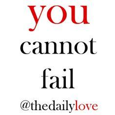 Inspirational - Failure #inspiring #words