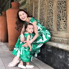 12 Times Marian Rivera and Baby Zia Proved They're the Best at Twinning Mommy And Me, Mom And Dad, Celebrity Photos, Celebrity Style, Family Outfits, Family Clothes, Marian Rivera, Couple Tees, Black Pink Kpop