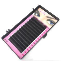 Fashion Semi-permanent 0.15mm C Curl Mink False Eyelasheh Makeup Tool Individual Silk Mink Volume Lashes Eyelash Extensions