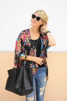Subtle Luxury   Silk Kimono   Fashion blogger, Belle De Couture