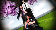 [MMD]-Yandere Simulator- Family by CasiaMMD