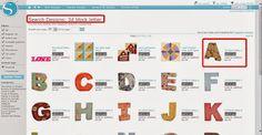 Carol Artes - Atelier & Designs: Tutorial de Letras 3D com a Silhuette
