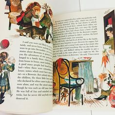 Color Illustrations from Vintage Children's Story Book
