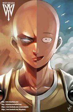 Comparison - One Punch Man - Saitama by Wizyakuza on Deviantart