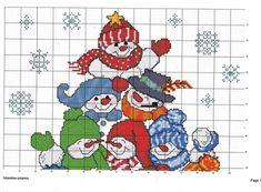 Image result for cross stitch penguin joy