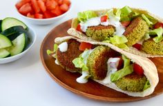 Ditch the deep fryer in favor of a healthy homemade recipe for crispy baked falafel paired with creamy yogurt sauce or quick-fix tahini sauce.
