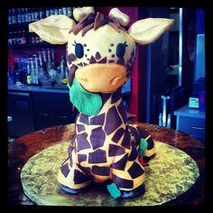 Cake Giraffe Birthday Cake
