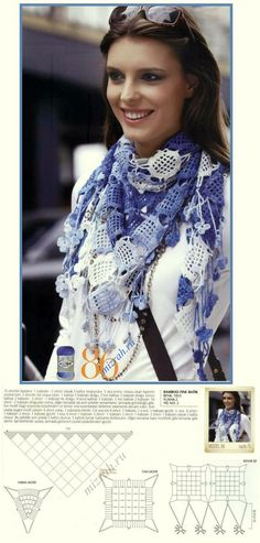 In the blue family shawl with diagrams