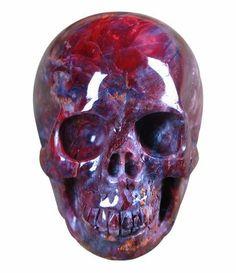 Pietersite Carved Crystal Skull