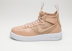 1abbbfd25b3 Nike Wmns Air Force 1 Ultraforce Mid (Vachetta Tan   Vachetta Tan - White)