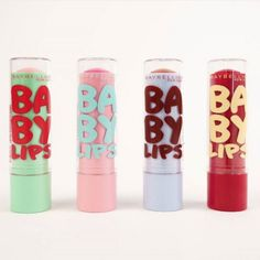 Limited edition holiday Baby Lips make for the perfect stocking stuffers. Baby Lips Collection, Winter Collection, Skin Makeup, Beauty Makeup, Makeup Dupes, Lip Gloss, Chapstick Lip Balm, Gloss Labial, Baby Lips Maybelline