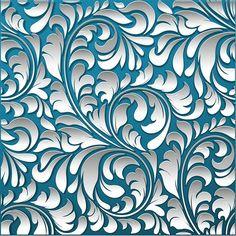 """Photo from album """"Фоны шикарные"""" on Yandex. Stencil Art, Stencils, Textures Patterns, Print Patterns, Pattern Art, Pattern Design, Pretty Backrounds, Motif Baroque, Motif Floral"""