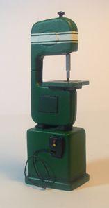 Miniature Modern Wood Shop Tools - Miniature Band Saw 1:12 scale