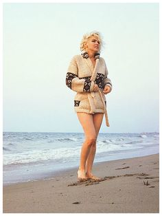 "7-13-1962 Santa Monica California. ""Mexican Jacket"" photo shoot by photographer George Barris of Marilyn Monroe. 025/2b. Image 37-89"