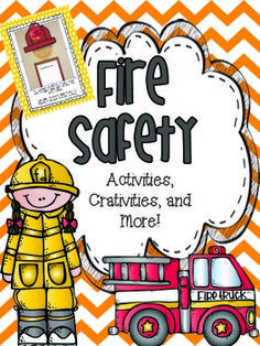 A ton of activities to help your students learn all about fire safety during October, Fire safety month! This set will easily last you the whole month!