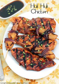 Hawaiian Barbecue Chicken