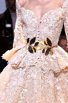 chiffonandribbons:Zuhair Murad Couture S/S 2014 via: