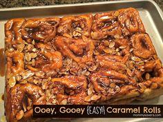 Gooey Carmel Rolls