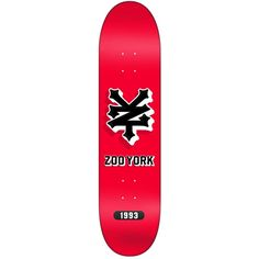 skateboard decks | ... Skateboard Decks › Zoo York Crackerjack Red Logo Skateboard Deck 8