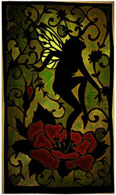 Stained Glass Fairy Collage | Flickr - Photo Sharing!