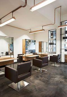 Mogeen Salon & Hairschool by Dirk van Berkel, Amsterdam store design