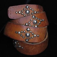 native american studded belts - Google Search