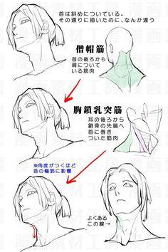 Manga Drawing Tips 埋め込み - Male Figure Drawing, Figure Drawing Reference, Body Drawing, Drawing Practice, Anatomy Reference, Drawing Faces, Manga Drawing, Anatomy Study, Body Anatomy