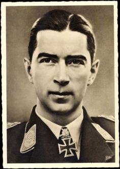 werner mölders | ... / Postkarte Ritterkreuzträger Oberstleutnant Werner Mölders