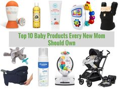 {Mommy Life} Top 10 Baby Products Every New Mom Should Own | Tasty Little Dish