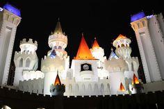 Les Gommettes de Melo: hôtel casino Excalibur à Las Vegas.