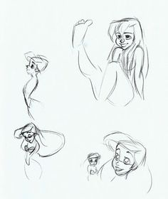 Cartoon Concept Design: Glen Keane