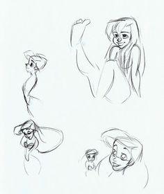 Cartoon Concept Design: Glen Keane