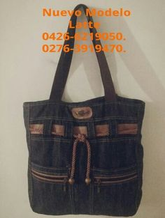 Love Jeans, Jeans Style, Jean Purses, Purses And Bags, Jean Crafts, Basket Bag, New Bag, Fashion Bags, Tote Bag