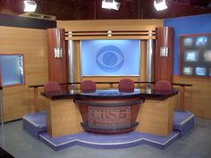 Explore photos of KGWN-TV's TV set design in this interactive gallery of the studio. Tv Set Design, Stage Design, Love Design, Cute Baby Couple, Tv Streaming, Garage Studio, Corporate Office Design, Tv Sets, Chroma Key