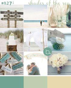 diy+teal+beach+wedding+decor | Aqua & Teal Beach Wedding Inspiration | b.loved weddings | UK Wedding ...