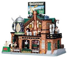 Yulesteiner Brewery - beer, lemax, brewery, christmas, village, ... - The Christmas Hut