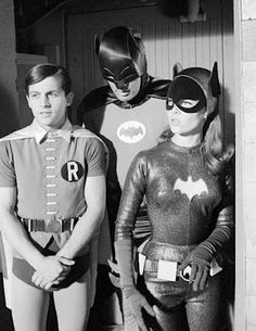 The Bat Channel!: Bat Trio! Vintage Burt Ward, Yvonne Craig and Adam West pics