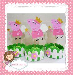 Centro de mesa Peppa Pig | Menina Criativa | Elo7